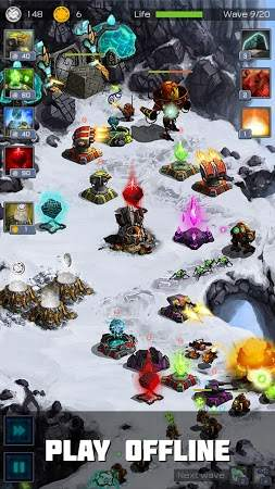 Ancient Planet Tower Defense unlimited Diamond
