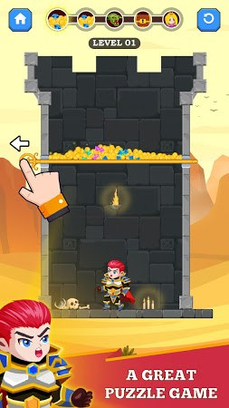 Hero Rescue unlimited gold