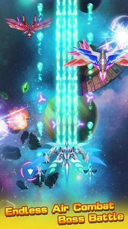 Galaxy Shooter-Space War Shooting Games infinite money