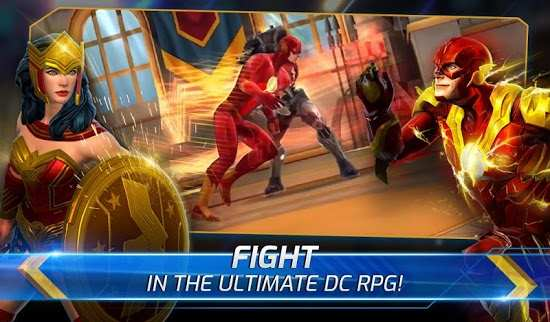 DC Legends Fight Superheroes high damage