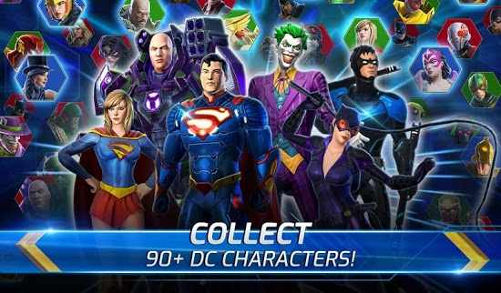 DC Legends Fight Superheroes all room unlocked