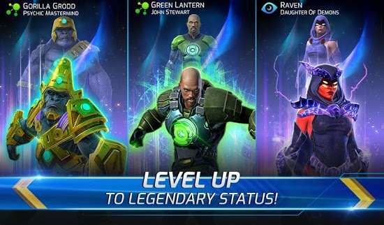 DC Legends Fight Superheroes Mod